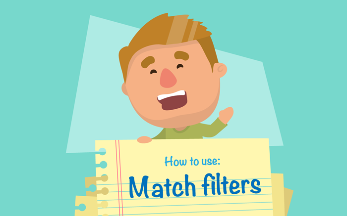 HomeSwapper how to use match filters